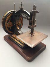 The Gresham Manchester Antique Vintage Sewing Machine 1860's Craven