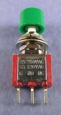 Switch:Mini Momentary Push Button, SPDT, 120V 5A, 250V 2A, 3-Pin : 2pcs per lot