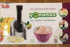 Dole Yonanas Healthy Frozen Fruit Dessert Maker ** Tastes Like Soft Ice Cream **