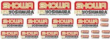 KIT 19 ADESIVI SHOWA  YOSHIMURA STICKERS A COLORI FORCELLA COD62