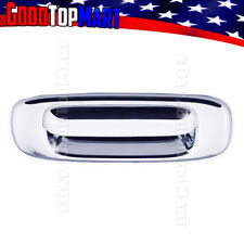 For GMC SIERRA CLASSIC 2007 07 Chrome Rear Back Tailgate Handle WITHOUT Keyhole