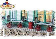 BAR MILLS 782 HO Baggage Carts (2) -  Craftsman Kit   MODELRRSUPPLY-COM