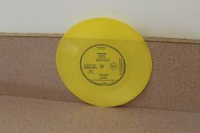 "Flaming Lips Life on Mars Lemon Heads Confetti 7"" flexi disc yellow vinyl"