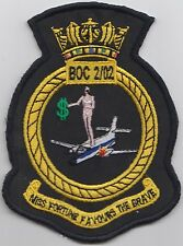 RAF Course BOC 2/02 Embroidered Crest Badge Patch MOD Approved