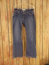 Tommy Hilfiger Jeans Low Rise Flare Stretch Blue Women's Size 6R 32 x 32