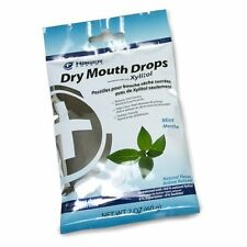 3 Pack Hager Pharma Dry Mouth Drops Xylitol Mint Sugarless Drops 2 Oz Each