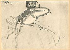 """Edgar Degas """"Danseuse assise"""""""