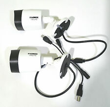 Lorex HD Analog 1080P In/Outdoor Cameras w/ 130' Night Vision LBV2521-C LOT OF 2