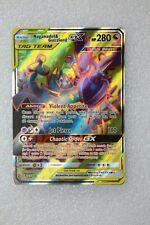 Pokemon Card TCG Naganadel & Guzzlord GX Full Art SM Cosmic Eclipse Ultra Rare
