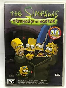 The Simpsons - Treehouse of Horror - DVD - AusPost with Tracking