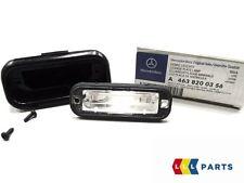 Neu Original Mercedes Benz MB G Klasse W463 Kennzeichenleuchte Licht 1pcs