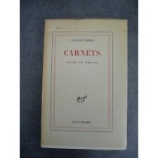 Camus Albert Carnets Janvier 1942 Mars 1951 Edition originale Paris Gallimard 19