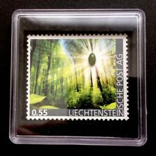 Liechtenstein 2017 first Jade Stamp in world 1. nephrit Brand Gems MNH