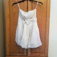 deLia's Women's Dress Strapless Large Bow Size 1