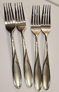 Cambridge Stainless Gabriella Sand Dinner Fork Flatware x4