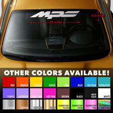 """MAZDA MPS MAZDASPEED 3/6 Windshield Banner Vinyl Premium Decal Sticker 28""""x4.5"""""""