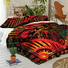 Mandala Bedding Duvet Cover Indian Queen Size Quilt Doona Cover Bed in a bag Set