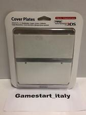 COVER PLATES FACEPLATE - FOR NEW NINTENDO 3DS - MARIO - WHITE - NEW