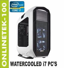 WORKSTATION i7 6950X 1TB SSD + 4TB 128GB GTX 1080 WIN10 PRO GAMING PC Computer