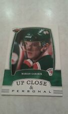 2002-03 BAP First Edition Up Close  & Personal Marian Gaborik Card 320