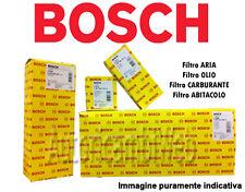 KIT 4 FILTRI ORIGINALI BOSCH ALFA ROMEO 159 1.9 JTDM 120 150 cv