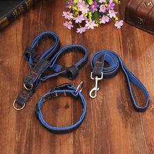 3 PCS/Set Pet Collar Large Dog Harness Leash Hand Strap Vest Collar