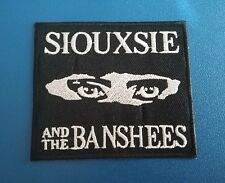 PUNK ROCK HEAVY METAL MUSIC SEW / IRON ON PATCH:- SIOUXSIE & THE BANSHEES (a)