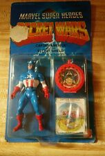 "Marvel Super Heroes ~ ""Secret Wars ~(Mattel)~1984 Captain America and his shield"