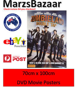 Zombieland Double Tap DVD Movie Poster