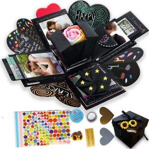 Explosion DIY Photo Album Anniversary Exploding Gift Box mother's birthday gift