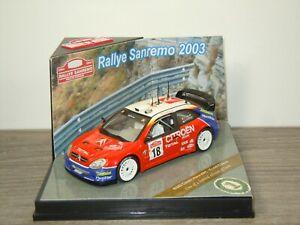 Citroen Xsara WRC S.Loeb / D.Elena - Vitesse 43203 - 1:43 in Box *53506