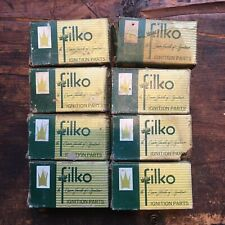 Vintage Lot of 8 Filko Car or Truck Ignition Parts 75S 52-85S 73S 52-35A 72S Nos
