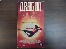 "USED ""Dragon"" Bruce Lee Story ""   VHS Movie  (G)"