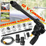 12V Electric Cordless Pressure Cleaner Washer Gun Water Hose Cleaning W/Battery