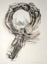 MECHTHILD MANSEL - Tanz - Wirbel - Farblithografie 2000
