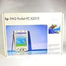 New Sealed Box Hp Ipaq H2215 Pocket Pc 400mhz