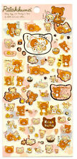 Sanx San-x Cat Fish Rilakkuma Sticker Sheet stickers kawaii Japan Bear B