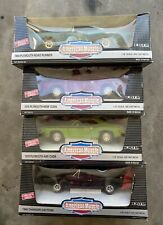 ERTL American Muscle 1:18 Lot of 4 MOPAR / Plymouth Dodge - FREE Shipping!