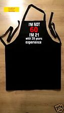 60th birthday gift apron ideal high quality garment