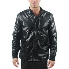 Rare Puma By Hussein Chalayan Black Jumper Windbreaker Jacket Medium Nylon Glanz