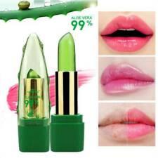 99% Aloe Vera Lipstick Lip Balm Color Mood Changing Long Lasting Moisturizing_UK