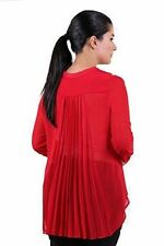 Women's Plus Size Polyester Formal No Pattern Tops & Shirts
