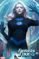 FANTASTIC FOUR INVISIBLE WOMAN #1 STANLEY ARTGERM LAU VARIANT VF/NM