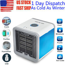 Portable Air Conditioner Cooler Fan Humidifier Air Cooling Home Office Desktop