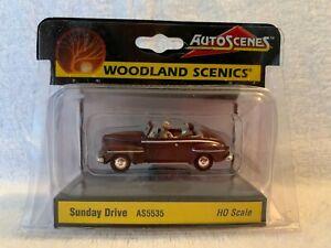 Woodland Scenics Auto Scenes Sunday Drive #AS5535 HO Scale
