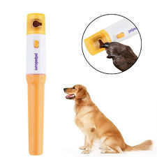 Pet Dog Cat Nail Grinder Trimmer Claw Clipper Electric Nail File Grooming Kit