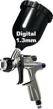 Devilbiss Digital Dv1 B Basecoat Hvlp Plus Gravity Feed Spray Gun 13mm
