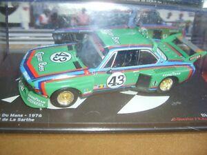 24 HEURES DU MANS 1976 BMW 3.5 CLS N°43 IXO ALTAYA ECH:1/43 NEUF