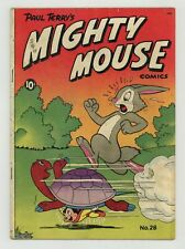 New listing Mighty Mouse #28 Vg- 3.5 1951
