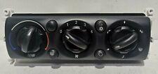 MINI COOPER R50 R52 R53 MANUAL AIR CONDITIONING HEATER CONTROL PANEL